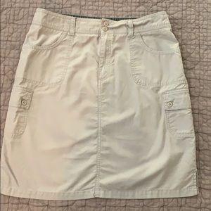 Eddie Bauer Khaki Skirt